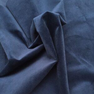 Møbelvelour. Mørk blå