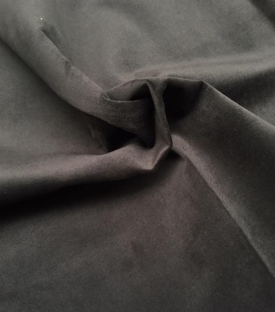 Møbelvelour. Muldvarpe grå/brun