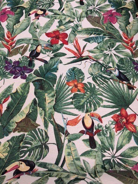 Møbesltof med mønster