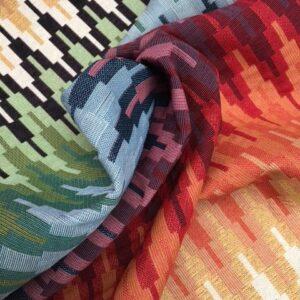 Møbelstof med mønster - Arkade