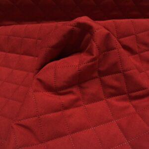 Rød quilt