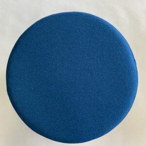 puf blå uld
