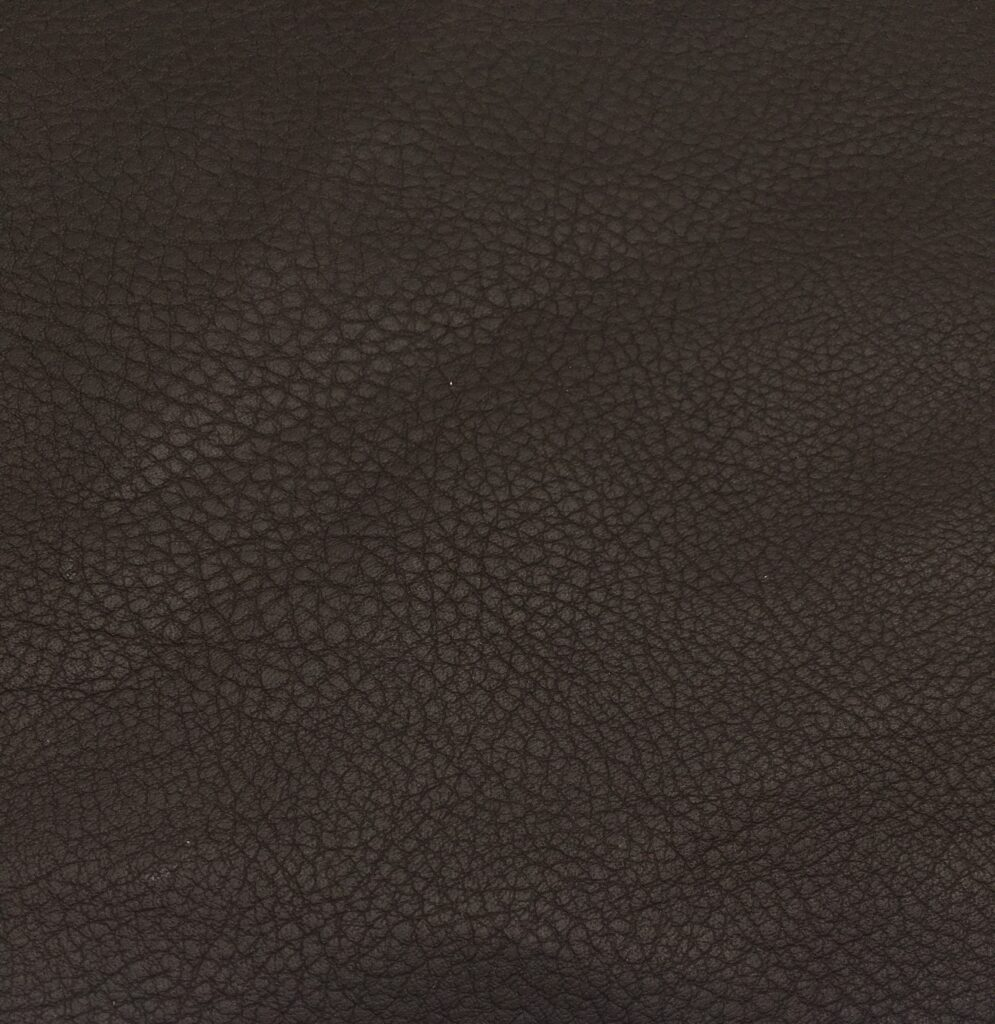 Vogue - kunstlæder - mørk brun - 198,- pr. m.