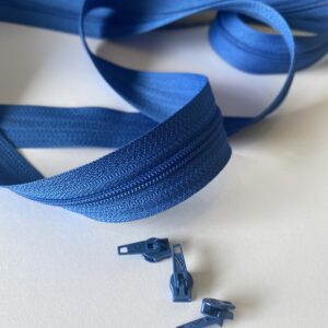 lånlås på metermål koboltblå